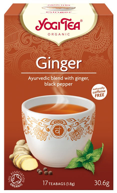 Ceai Bio de Ghimbir Yogi Tea, 30.6gr