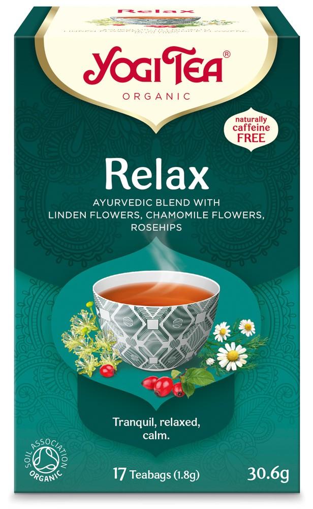 Ceai Bio CALMANT Relax Yogi Tea, 30.6 g