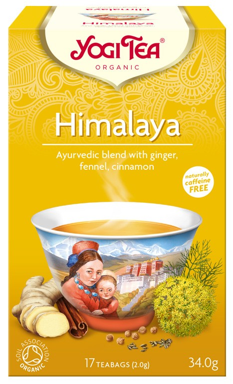 Ceai Bio HIMALAYA Yogi Tea, 34 g