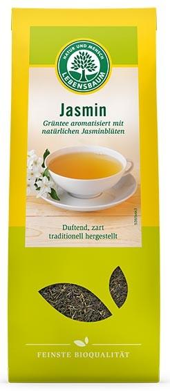 Lebensbaum – Ceai bio verde cu iasomie, 75 g