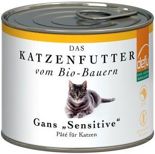 Defu BIO Hrana pentru pisici - Pate cu Gasca - 200g