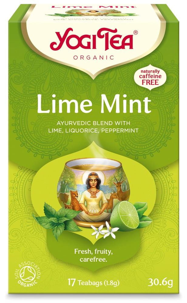 Ceai Bio Lamaie ŞI Menta Yogi Tea, 30.6g