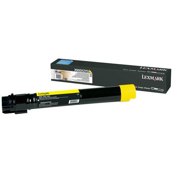 Consumabil toner X950X2YG yellow