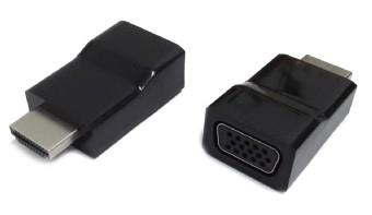 Adaptor HDMI la VGA, T/M, single port, GEMBIRD 'A-HDMI-VGA-001'