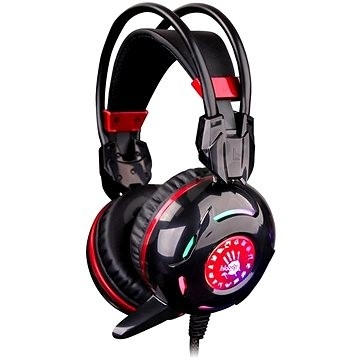 Casti Bloody Combat Gaming, Black+Red 'G300'