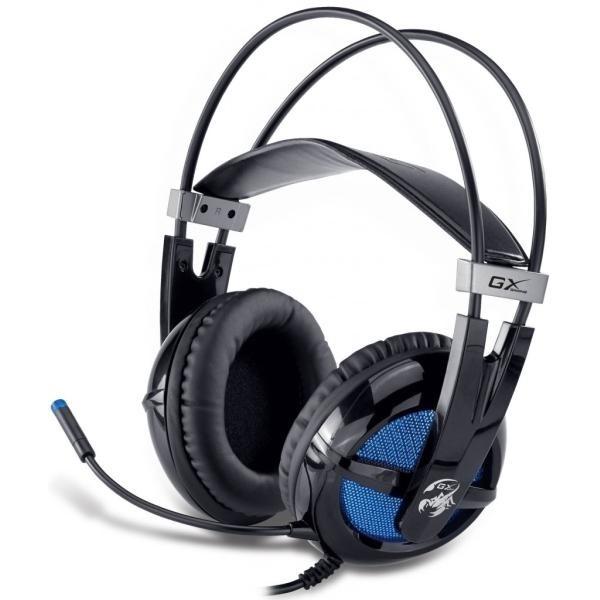 Casti Genius GX-Series Junceus black 'HS-G650' + microfon