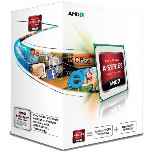 CPU AMD skt FM2 A4 X2 6300 3.90/3.70GHz, 1MB cache, 65W, BOX 'AD6300OKHLBOX'