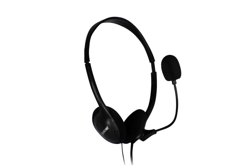 Casti cu microfon SPACER SPK-223, black