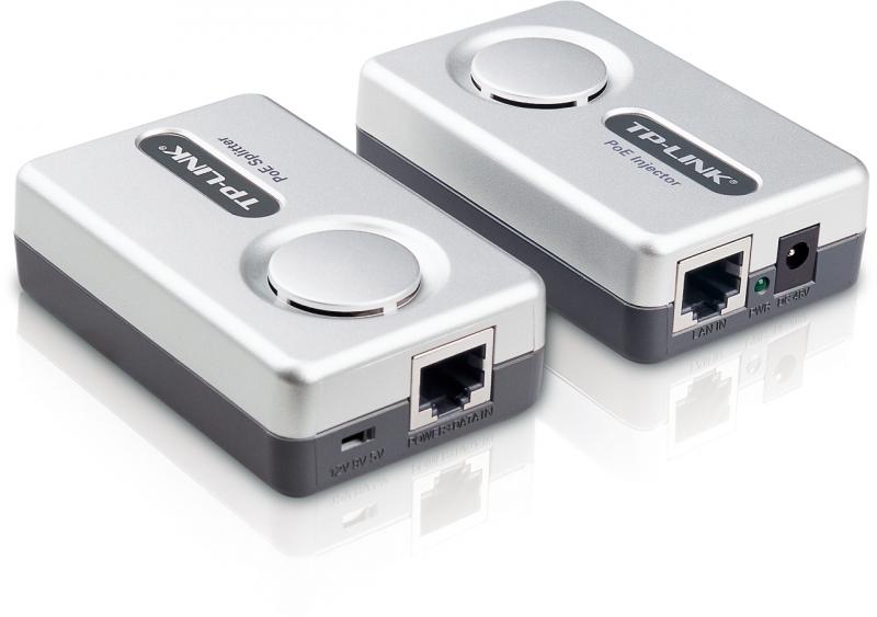 Kit Power Over Ethernet (POE) Injector+Splitter TP-LINK TL-PoE200