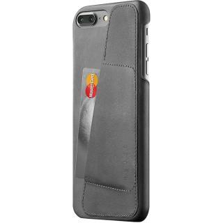 Husa Capac Spate Wallet Piele Gri Apple iPhone 7 Plus, iPhone 8 Plus