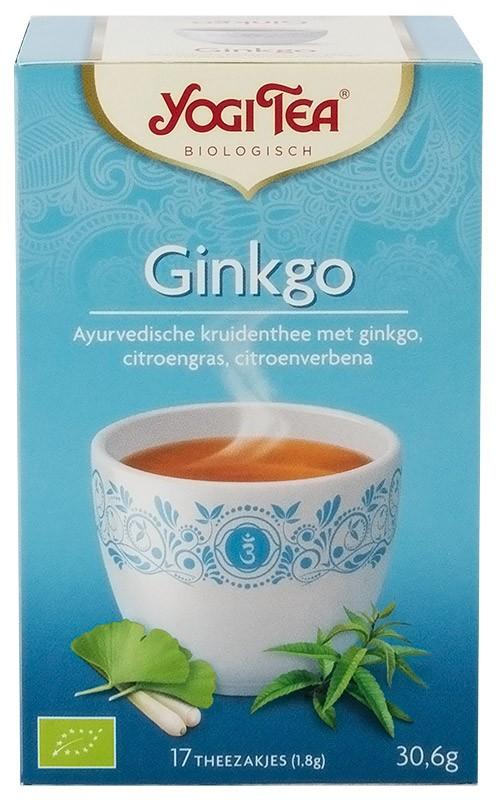 Ceai bio Ginkgo, Yogi Tea, 30.6 g