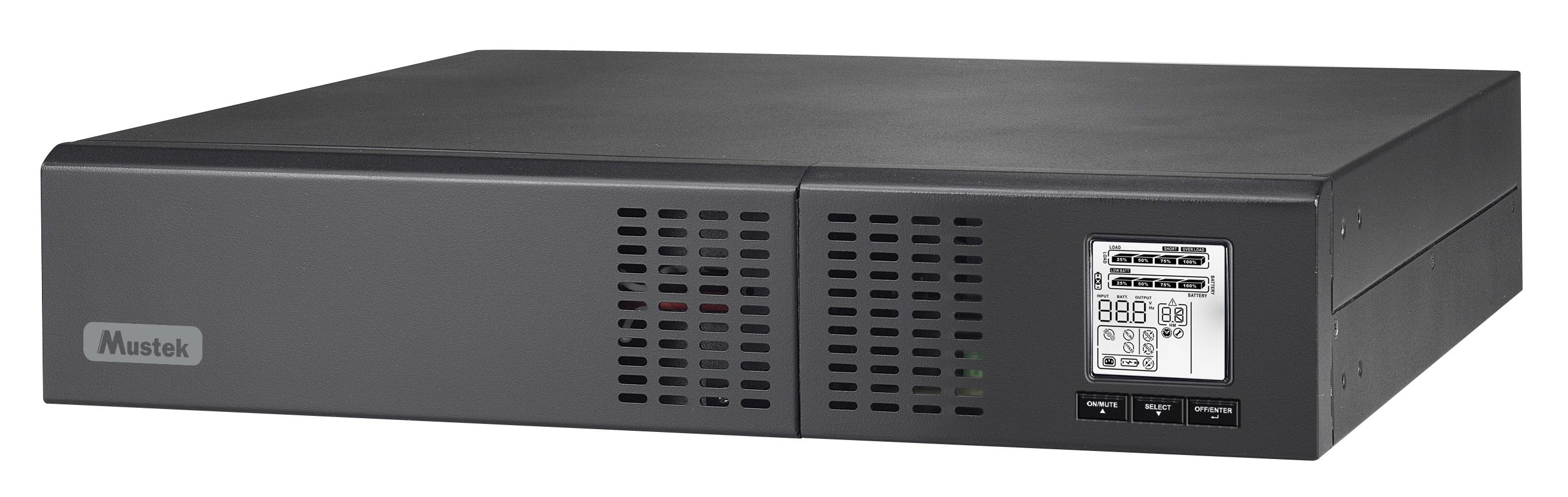 UPS Mustek PowerMust 1500 NetGuard LCD 1500VA