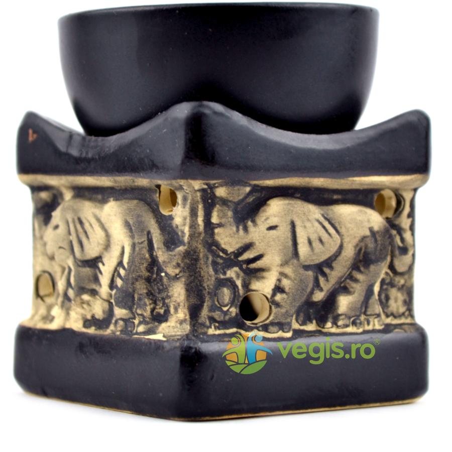Suport Mic pentru Ulei Aromat Elefant