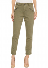 Ryan Skinny Colored Knit Denim in Silver Pine