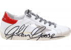 Superstar Sneakers In White With Signature