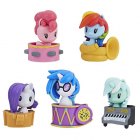 Set 5 Figurine My Little Pony Cutie Mark Trupa Poneilor Seria 2
