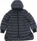 Bouchet Blue Down Jacket With Hood