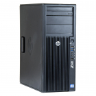 HP Z420 Intel Xeon E5 1603 2 80 GHz 16 GB DDR 3 REG 240 GB SSD DVD RW