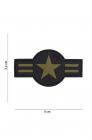 Patch 3D PVC U S Air Force Green
