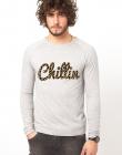 Bluza gri barbati Chillin