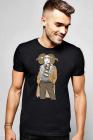 Tricou barbati negru Berbec Fashion