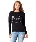 Bluza dama neagra Karma