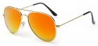 Ochelari de soare Aviator Orange Gold