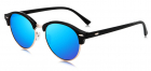 Ochelari de soare Clubmaster Retro II Bleumarin cu Auriu