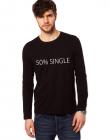 Bluza neagra barbati 50 Single