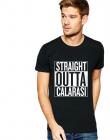 Tricou negru barbati Straight Outta Calarasi