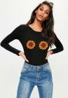 Bluza dama neagra Sunflower
