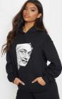 Hanorac dama negru Dali Portret