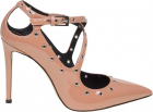 Alyson Pumps In Pink Patent Leather