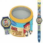 Ceas Junior Walt Disney Kids Model Jake Piratul Tin box 561149