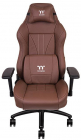 Scaun gaming Tt eSPORTS by Thermaltake X Comfort Real Leather Brown