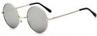 Ochelari de soare John Lennon Vintage Gri Argintiu
