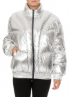 Kristen Down Jacket In Silver Color