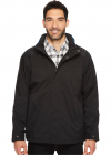 Water Resistant Fleece Lined Jacket with Hidden Hood