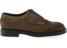 Derby Bogue Shoes In Tobacco Color