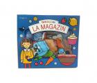 Bebe inva Carte cu puzzle La magazin