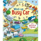 Wind up busy car Carte Usborne 3