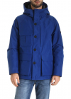 Storm Down Jacket In Electric Blue
