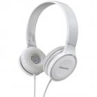 Casti audio cu banda RP HF100ME W Microfon Alb
