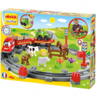 Set de constructie Abrick Country Train