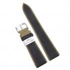 Curea de ceas Morellato gri inchis cu maro 20mm 22mm A01X5332C38090CR