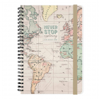 Jurnal Large Weekly Planner 12 Months Map