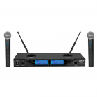 Microfon SET 2 MICROFOANE WIRELESS 8 CANALE REGLABILE BST
