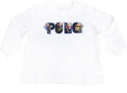 Polo Logo T Shirt In White