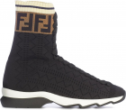 Fendi Viscose Slip On Sneakers