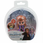 Minifigurina Anna in Rochie Mov Whisper and Glow Frozen 2